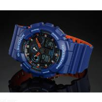 Casio-G-Shock-GA-100L-2A-Analog-Digital-Watch-Blue