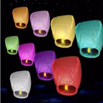 10PCS-Sky-Flying-Lanterns-Chinese-Fire-Floating-Pray-Lanterns-Random-Color