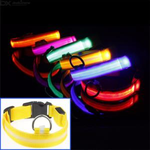 Light Up Dog Collar USB Rechargeable LED Pet Collar