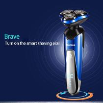 Multifunction-Washable-Rechargeable-Electric-Shaver-Hair-Trimmer-Triple-Blade-Razor-Set