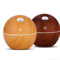 130ml-Ultrasonic-Aroma-Humidifier-USB-Wood-Grain-Essential-Oil-Diffuser-Office-Mist-Maker-with-LED-Lights