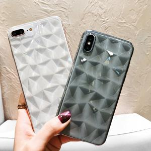 Phone Case Diamond Finish Cellphone Cover For IPHONE 6/6s/6s PLUS/7/8/7 PLUS/8 PLUS/X/XS/XS MAX/XR