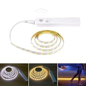 3M LED Light Strip Motion Sensor Night Light Rope For Staircase Closet Cupboard