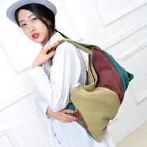 Women-Soft-Canvas-Bag-Patchwork-Student-Tote-Handbag