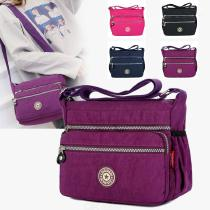 Zipper-Messenger-Bags-Casual-Nylon-Handbag-Single-Shoulder-Bag-With-Adjustable-Strap-For-Women