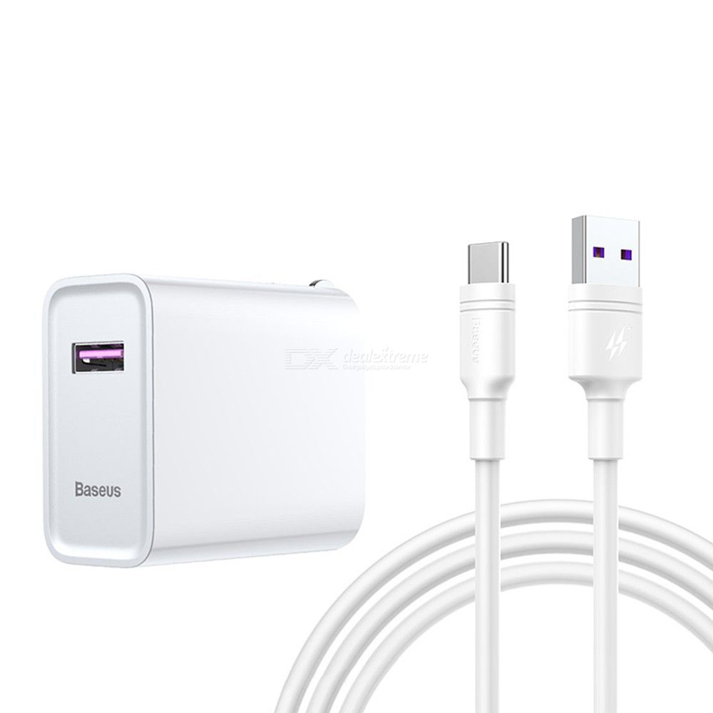 Fast Charger Kit Powerful 5A Type C Charging Kit For Huawei US Plug