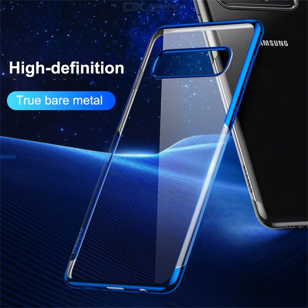 Clear Phone Case Ultra-slim Shockproof Mobile Cover For Samsung S10 S10 +