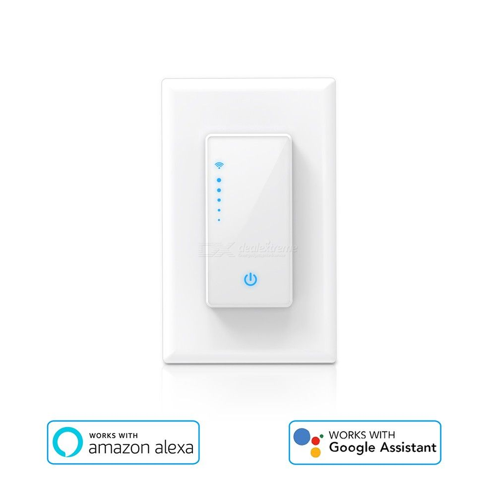 Smart Light Switch WiFi Intelligent Switch With Timer American Regulation Works With Alexa Google Home