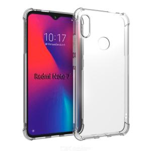 Protection Transparent Soft TPU Silicone Phone Case for Xiaomi Redmi Note 7
