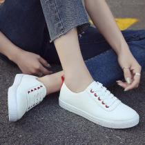 Spring-Autumn-Women-Shoes-Sport-Lace-Up-Casual-Bonded-Leather-Footwear