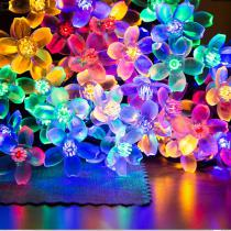 Holiday-Landscape-Decorative-Solar-LED-Lights-Christmas-Decoration-Flowers-RGB-Warm-White-Fairy-Interior-Lights