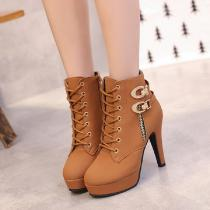 Lace-Up-High-Thin-Heels-Platform-Metal-Decoration-Ankle-Martin-Boots-For-Women