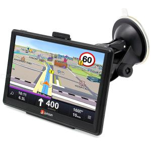 Junsun D100-PT 7 inch HD Car GPS Navigation FM Bluetooth AVIN Latest Map Sat NAV Truck GPS Navigators Automobile