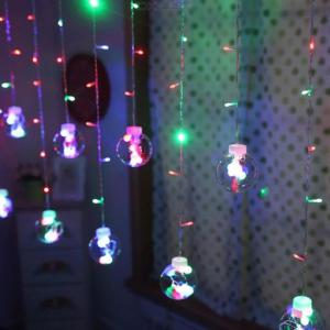 3M Ball String Light LED Curtain Light Rope For Indoor Outdoor Decoration - EU Plug