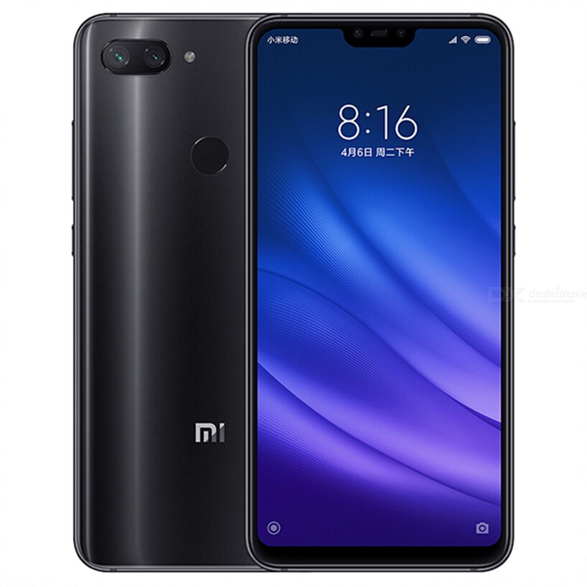 Xiaomi Mi 8 Lite 6.26 Inch Mobile Phone Octa Core 24MP Front Camera 4GB RAM 64GB ROM - Global Version