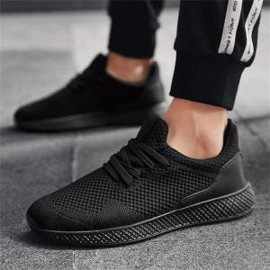 Men Casual Breathable Mesh Shoes Outdoor Lightweight Sneakers