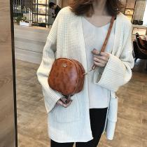 Fashion-Mini-Handbag-PU-Shoulder-Small-Crown-Messenger-Solid-Small-Square-Bag