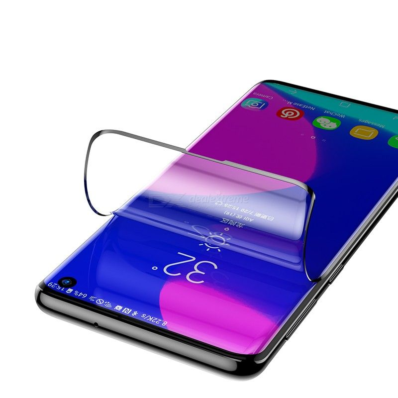 2pcs curved screen protector 0.15mm ultra slim soft display protection for samsung s10 s10 plus