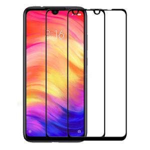 2PCS Naxtop 2.5D Tempered Glass Screen Protector Scratch Proof Film for Xiaomi Redmi Note 7