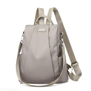 New Women Backpacks Simple Oxford Multifunction Anti Theft Travel Bag