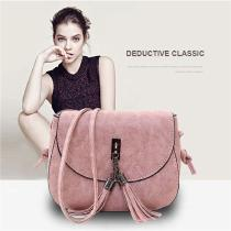 14-X-55-X-185cm-Classic-PU-Shoulder-Bag-Solid-Crossbody-Bag-With-Tassel