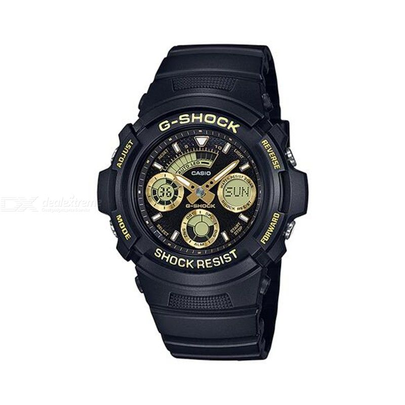 Casio G-Shock AW-591GBX-1A9 Digital Analog Watch With LED 200m Water Resistance