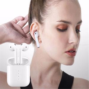 i10 TWS Mini Double Earbuds Wireless Bluetooth V5.0 Earphones with Charging Box for IPHONE Smart Phones