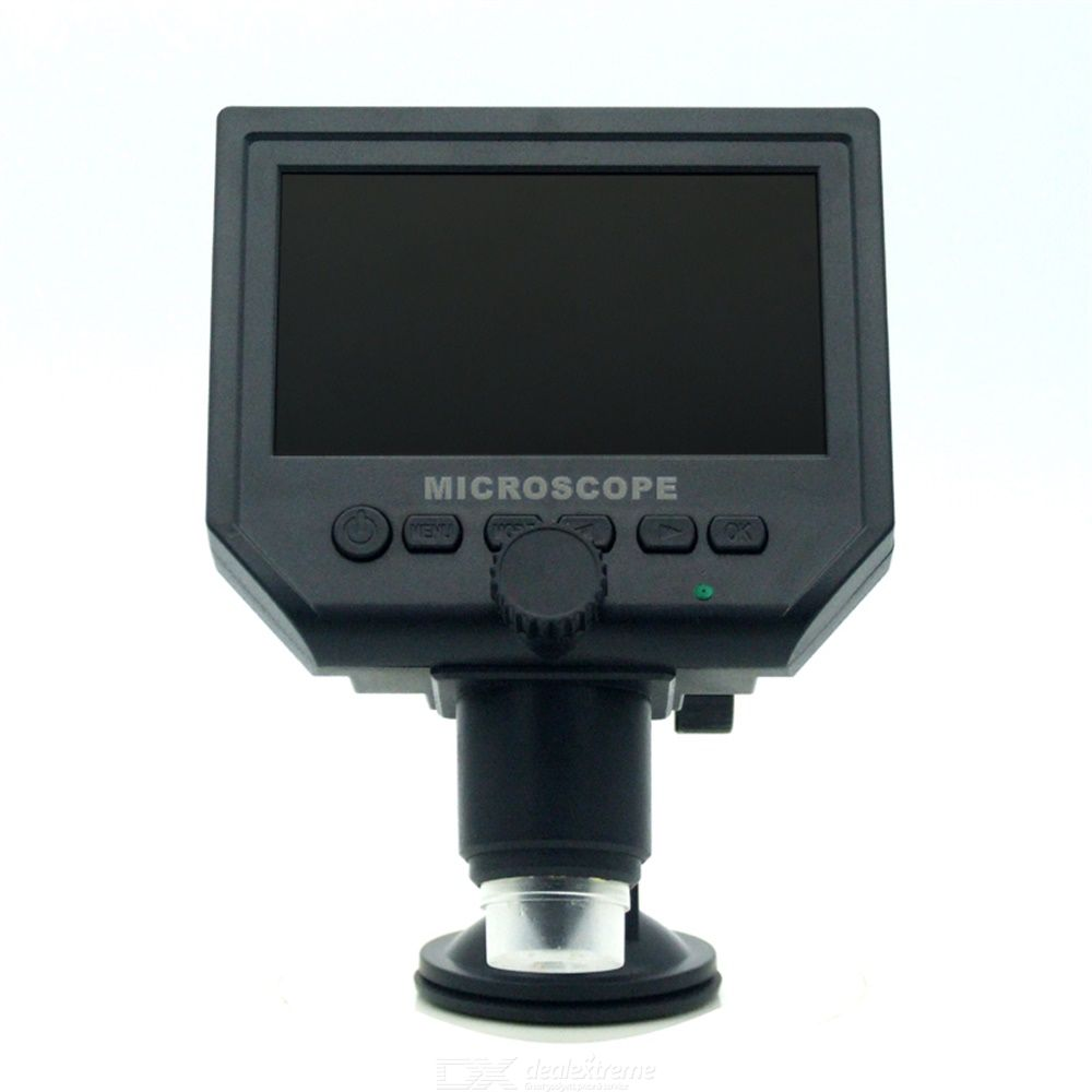 Digital Video Microscope 600X4.3 3.6MP LED Magnifier For Mobile Phone Maintenance QC/Industrial Inspection Stand