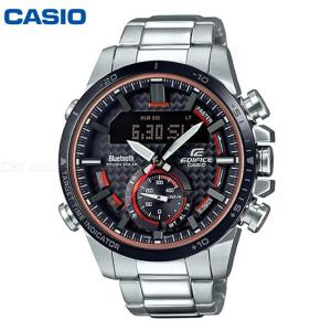 Casio Edifice ECB-800DB-1A Bluetooth Watch Smart Stainless Steel Wristwatch Supports Phone Linking