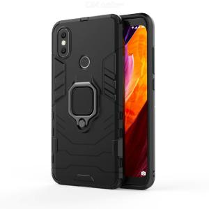 Mr.northjoe Ring Buckle Armor Phone Case with Stand Function for Xiaomi Mi A2 / 6X