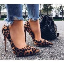 Womens-Leopard-High-Heel-Slip-On-Pointed-Toe-Shoes-With-Anti-slip-Sole