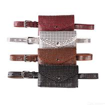 Womens-Stylish-Rivet-Belt-With-Matching-Waist-Bag-for-Jeans-Pants