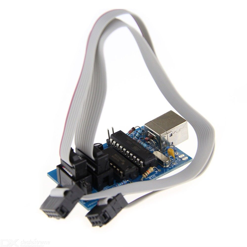 DIY USB Tiny ISP 2.0 Downloader For Arduino USB Tiny Downloader