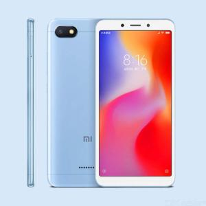 Xiaomi Redmi 6A Android Phone With 2GB RAM, 16GB ROM - Blue