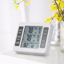 LCD-Digital-Thermometer-Indoor-Outdoor-Temperature-Meter-With-Weather-Station-CF-Display-W1PC-Transmitter