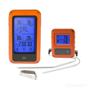 TS-TP20  Wireless Touch Screen Digital Thermometer with Dual Food Temperature Probe for BBQ Tools