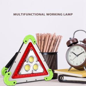 Car Exterior Folding Tripod LED Portable Traffic Warning Board Emergency Multifunction lamp