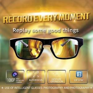 G5 WiFi Camera Glasses Invisible FHD Video Record Glasses 300mAh Battery Support TF Card