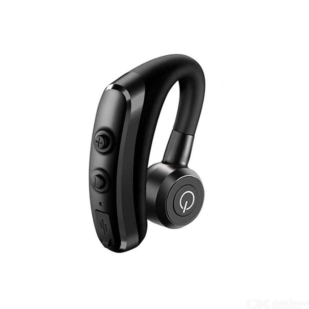 Bluetooth Wireless Earphones Earhook Bluetooth 4.1 Earbuds 9 Hours Talk Time Pairing With 2 Cellphones