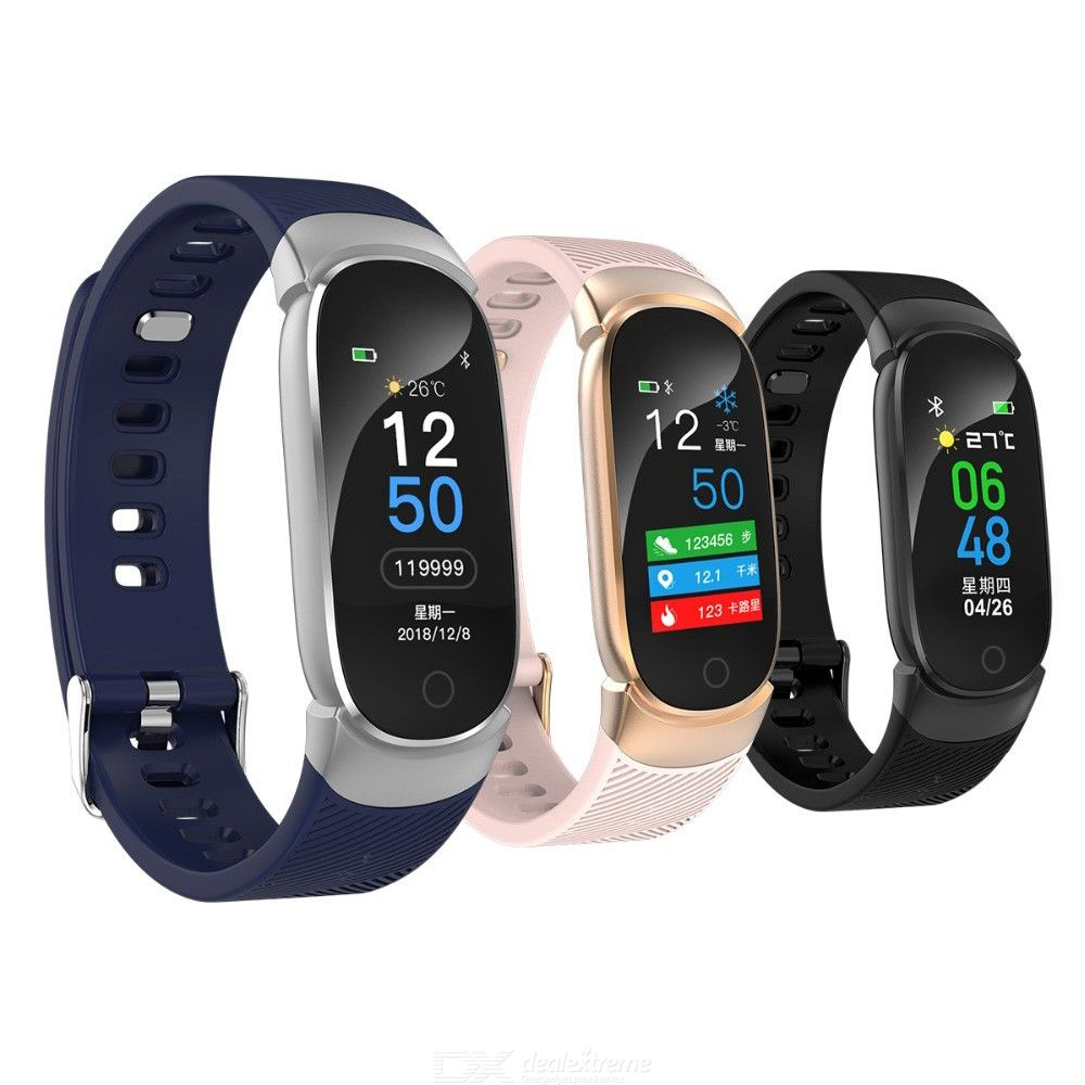 New Smart Watch Wristband  Heart Rate Tracker Fitness Blood Pressure monitor IP67 Waterproof Sport Bracelet