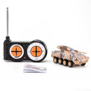 Remote Control Tank Toys Land Armor Car RC Military Model Toy For Kids