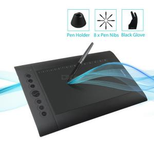 HUION H610 PRO V2 Graphic Tablet Professional Digital Drawing Tablet With Battery-Free Pen Tilt Function 8192