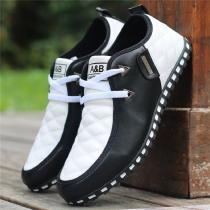 Mens-Genuine-Leather-Business-Shoes-Waterproof-Casual-Moccasin-Gommino-Shoes