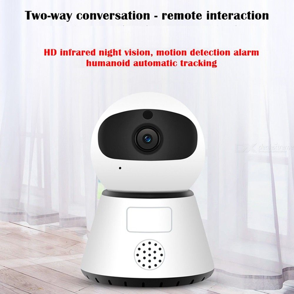 S-Y1 Home Security Camera 1080P HD Wireless Surveillance With Night Vision 2-way Audio Motion Detection