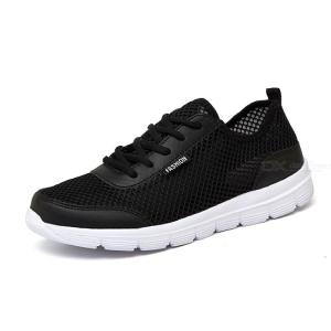 New Summer Casual Shoes Sport Breathable Lightweight Net Shoes For Men