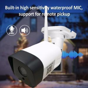 Outdoor Home Surveillance Waterproof 1080P HD IP Camera With Night Vision Motion Detection Plug And Play