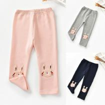 Girls-Cotton-Leggings-Cute-Rabbit-Embroidered-Knit-Pants-3-Pack