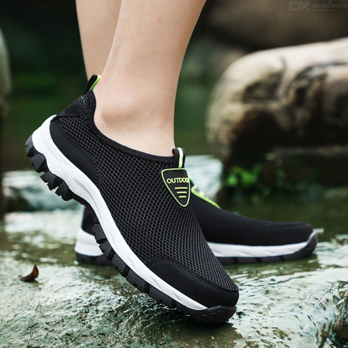 Hiking Shoes Non-Slip Lightweight Sneakers Wear Resistant Breathable Casual Work Shoes For Men Outdoor