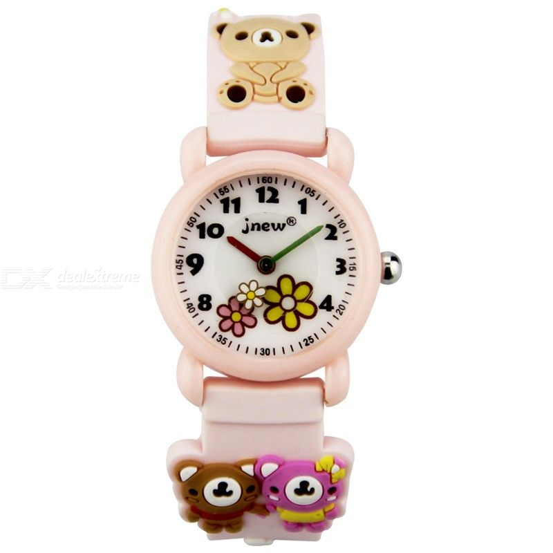 Kids Watch Cute 3D Cartoon Animal Watch For Toddler