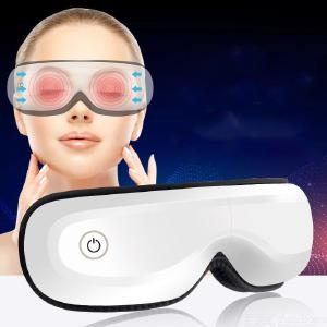 Electric Eye Massager With Heating Vibration Music And Air Pressure Foldable Temple Massager